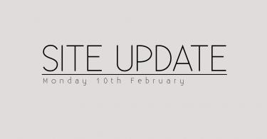 Site Update
