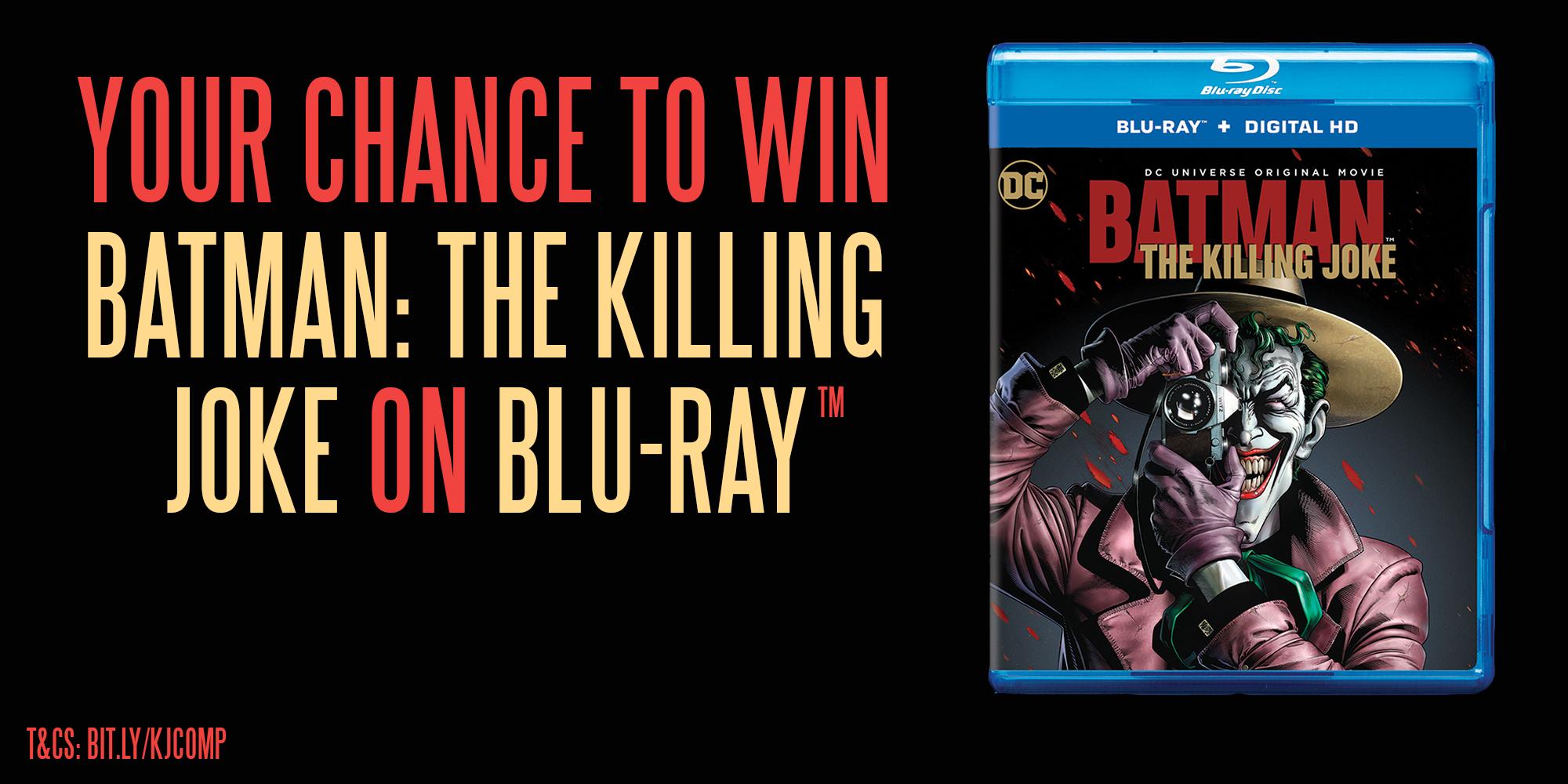 WIN 'Batman: The Killing Joke' on Blu-Ray // Competition ...